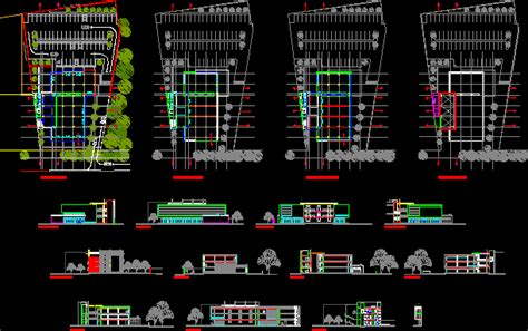 Design Cad Vorlagen Restaurant Hotel Accommodation 2d Dwg Plan For Autocad Designscad