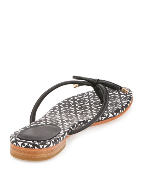 Genevieve Sandals By Kate Spade by Kate Spade New York Mistic Bow Flat Sandal Black