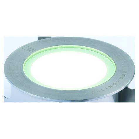 led ground lights outdoor collingwood lighting gl050 white stainless steel led