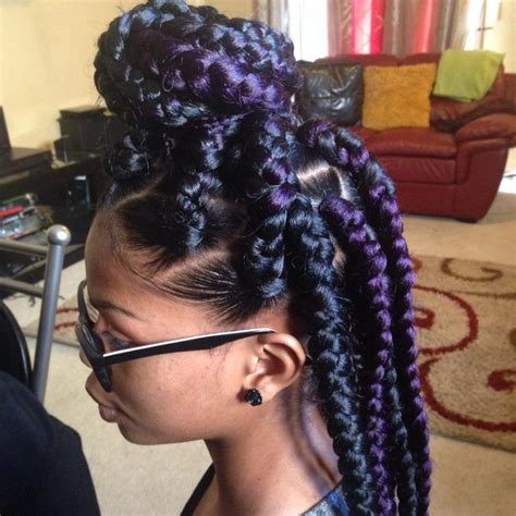 hair colors for box goddess braids best 25 jumbo box braids ideas on pinterest