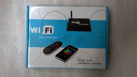 wf100 wifi rgb led controller control led lights with wf100 wifi controller for android or ios system with rf remote