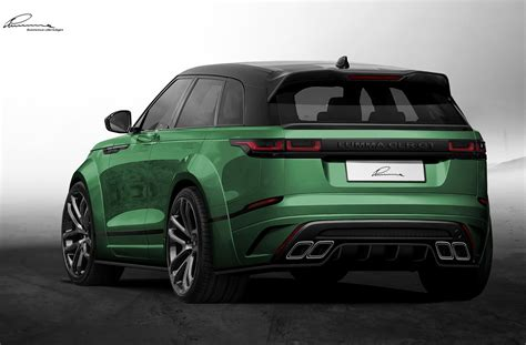 customized range rover 2017 2018 range rover velar already gets a wide body kit by