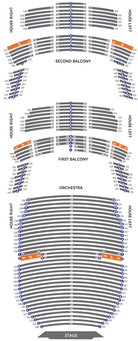 seating for seating chart gt gt bass concert gt gt performing arts gt gt