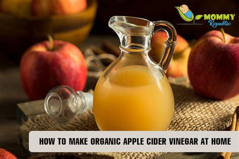 how to make organic apple cider vinegar at home