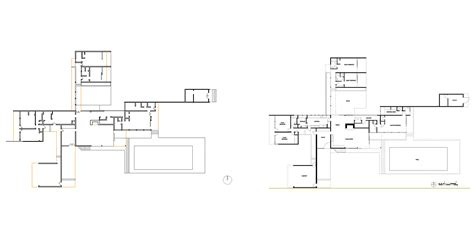 kaufmann desert house floor plan kaufmann desert house plan