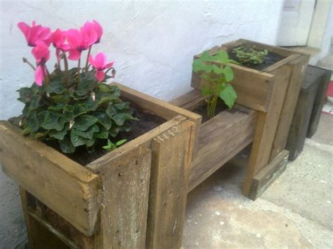diy wood pallet made planters 99 pallets