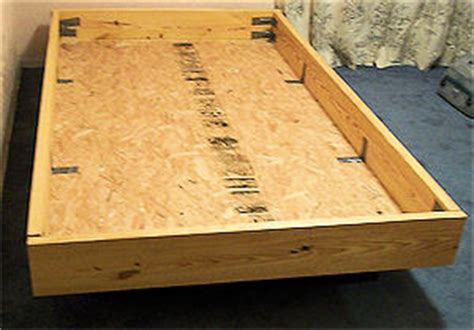 water bed frame how to build a waterbed frame free furniture plans and directions on how to build a