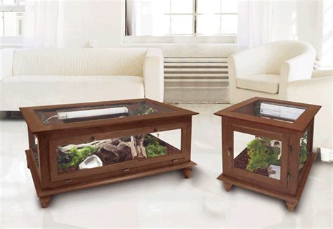 cage end table cages by design majestic reptile coffee table cage end