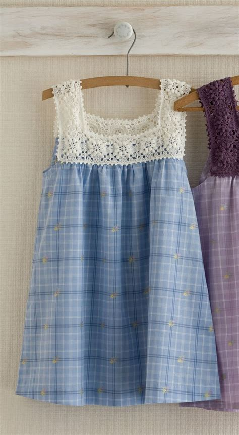 pattern fabric dress 132 best crochet and fabric dresses for girls images on