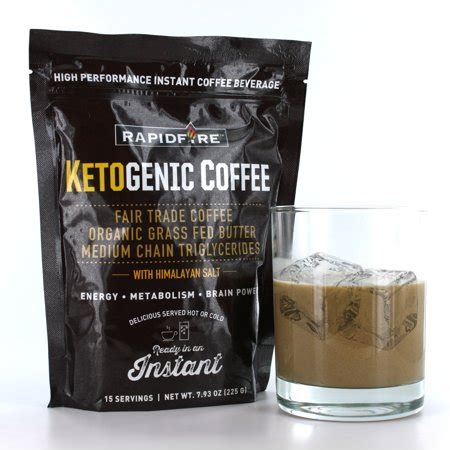 rapid fire ketogenic coffee instant mix, 7.93 oz walmart.com
