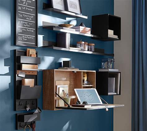Wall Mounted Desk System by Wyatt Workspace Wall Mounted Desk Pottery Barn