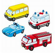 Public Service Vehicles Collection Vector  Free Download