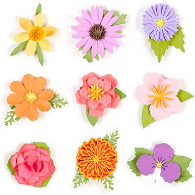 Diskon Dies Flower Circle 7 Dies 3d flowers svg kit 6 99 svg files for silhouette