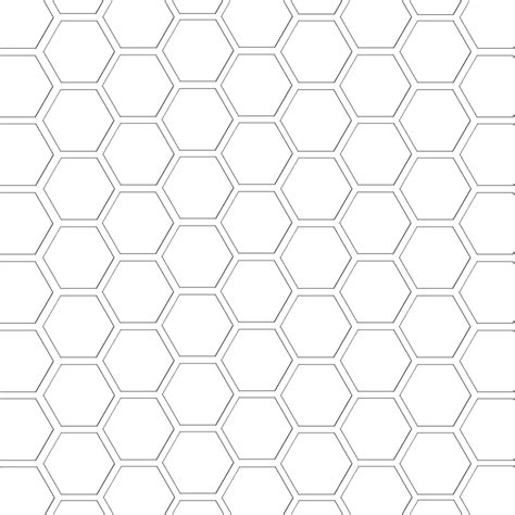 mel stz hexagon digital paper template hex paper