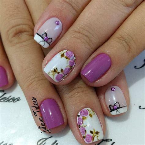 imagenes de uñas decoradas para verano u 241 as florales para temporada primavera verano 2017 42