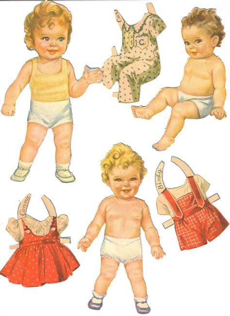 Dolls With Paper - paper baby dolls with clothes paper doll babies