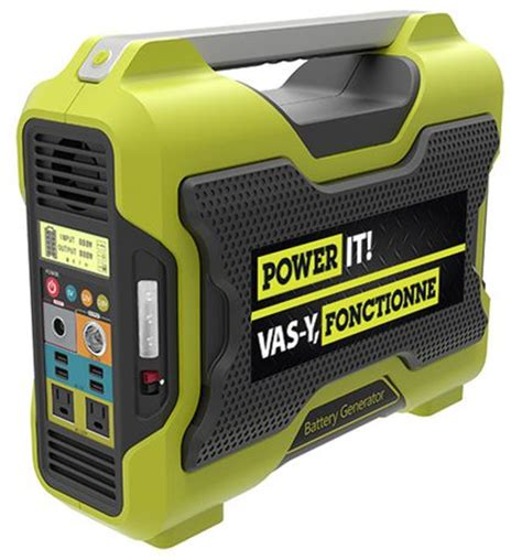battery powered generator home depot
