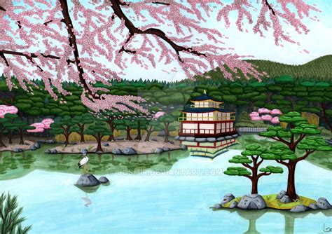 japanese landscape by josmir on deviantart