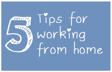 5 tips for working from home the right brain business plan 174