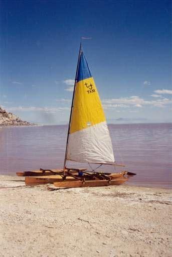 clc boats trimaran bill s log clc mill creek 6 5 trimaran