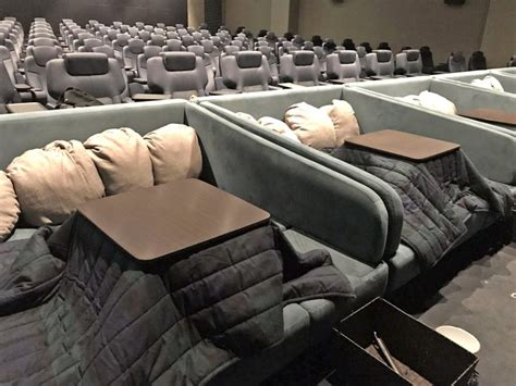 heated blanket for tables cosy cinema in has heated tables and blankets you