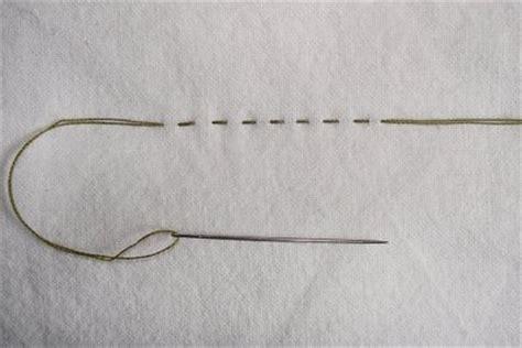 straight stitch , craft how tos: straight stitch