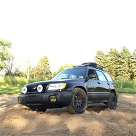 2004 subaru forester xt, with method race wheels, general