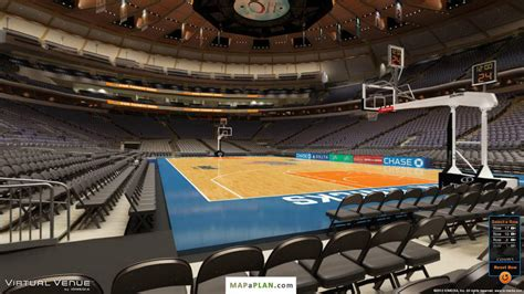msg section 2 madison square garden seating chart detailed seat