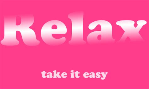 testo relax take it easy relax take it easy