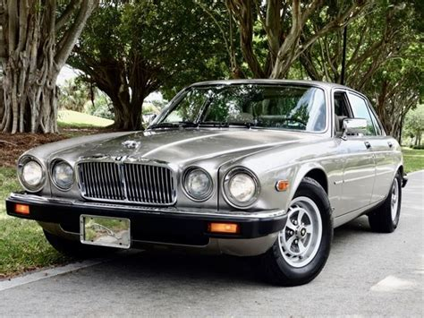 1987 xj6 jaguar 1987 jaguar xj6 vanden plas for sale delray florida