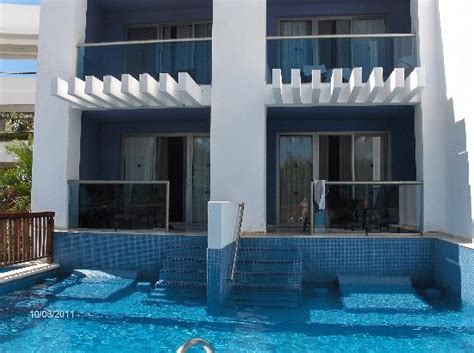 swim up rooms view from our room picture of grand riviera princess all suites resort spa playa