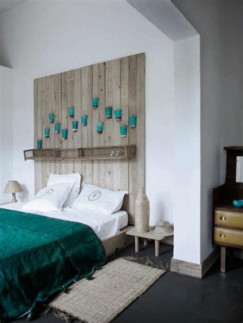 deco tete de lit d 233 co chambre tete de lit bois