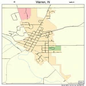 warren map warren indiana map 1880108
