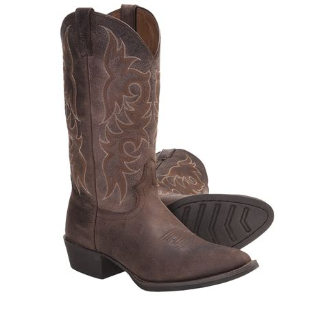 justin cowboy boots for justin boots cowhide 13 quot cowboy boots style 2556 j12