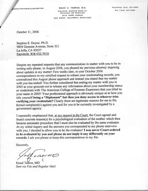 Decline College Letter Stephen Doyne Files Angiemedia