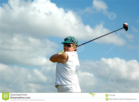 seniors golf swing senior woman golf swing royalty free stock photos image