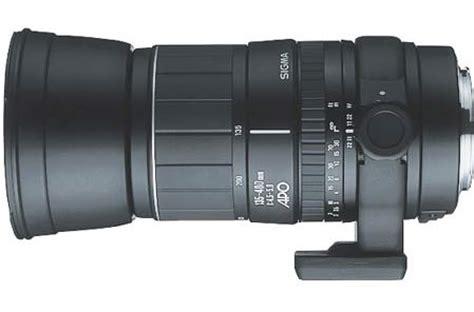 sigma 135 400mm f4.5 5.6 apo aspherical a mount lens info
