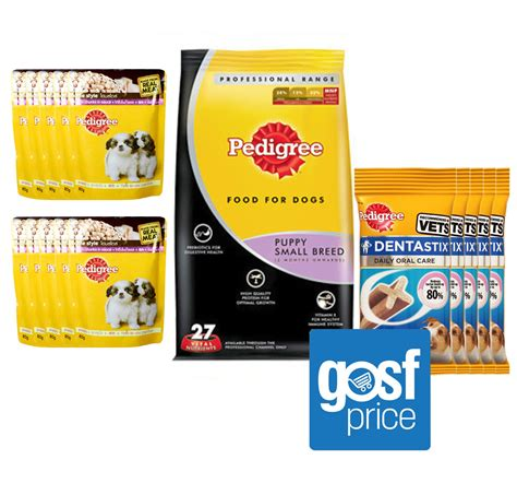 pedigree small food pedigree small breed puppy combo food treat pack dogspot pet supply store