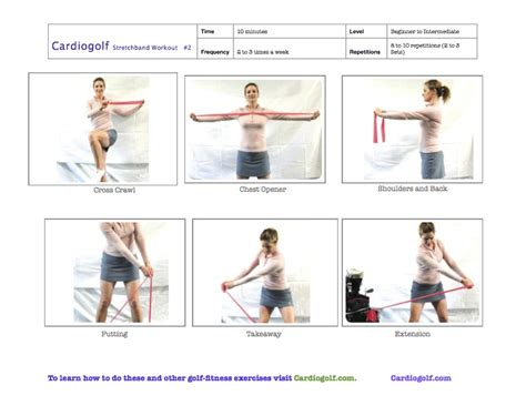 golf swing flexibility exercises cardiogolf resistance bands cardiogolf