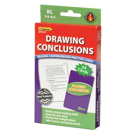 O Drawing Conclusions by Drawing Conclusions Cards Reading Comprehension Ep 3417