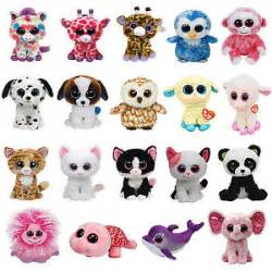 ty beanie boo soft big eyes plush cat teddy soft toy designs bear sheep gift ebay