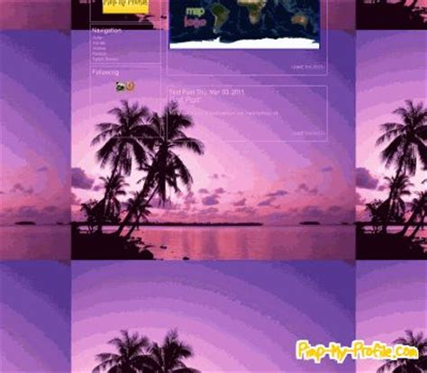 themes tumblr tropical tropical beach sunset tumblr themes pimp my profile com