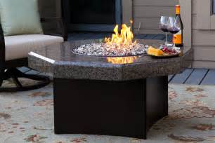 Patio Fire Table Oriflamme Gas Fire Pit Table Elegance Octagon
