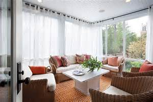 Ideas For Sunroom Sheer Curtains Ideas Pictures Design Inspiration