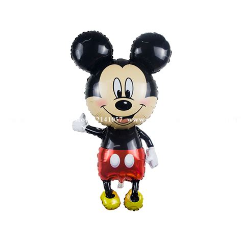 Balloonable Balon Foil Mickey Minnie Mouse new arrived 5pcs 46 inch large size mickey mouse balloons minnie mouse airwalker foil helium