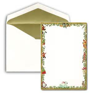 blank 12 days of christmas invitations paperstyle
