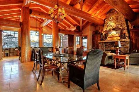 montana home decor cabin interior design blends form and function