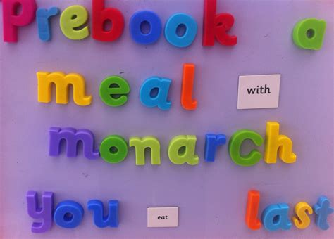 monarch seat allocation monarch airlines serve child s meal in middle of