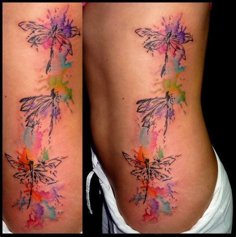 watercolor tattoo dragonfly watercolor side dragonflies dragonflies