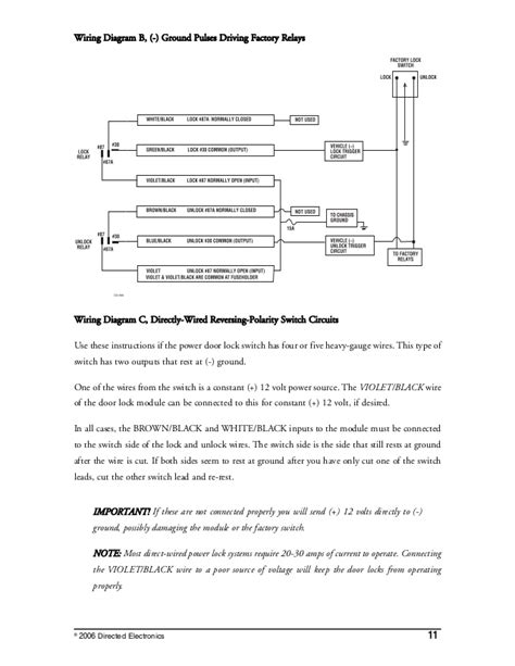 directed electronics 4x03 wiring diagrams directed wiring